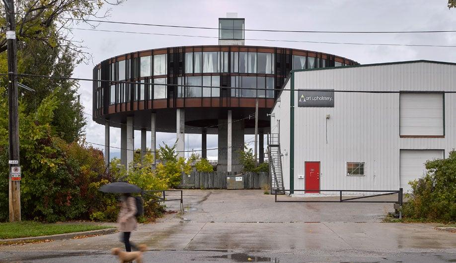 A UFO-Shaped Condo Building Alights on Winnipeg's Skyline