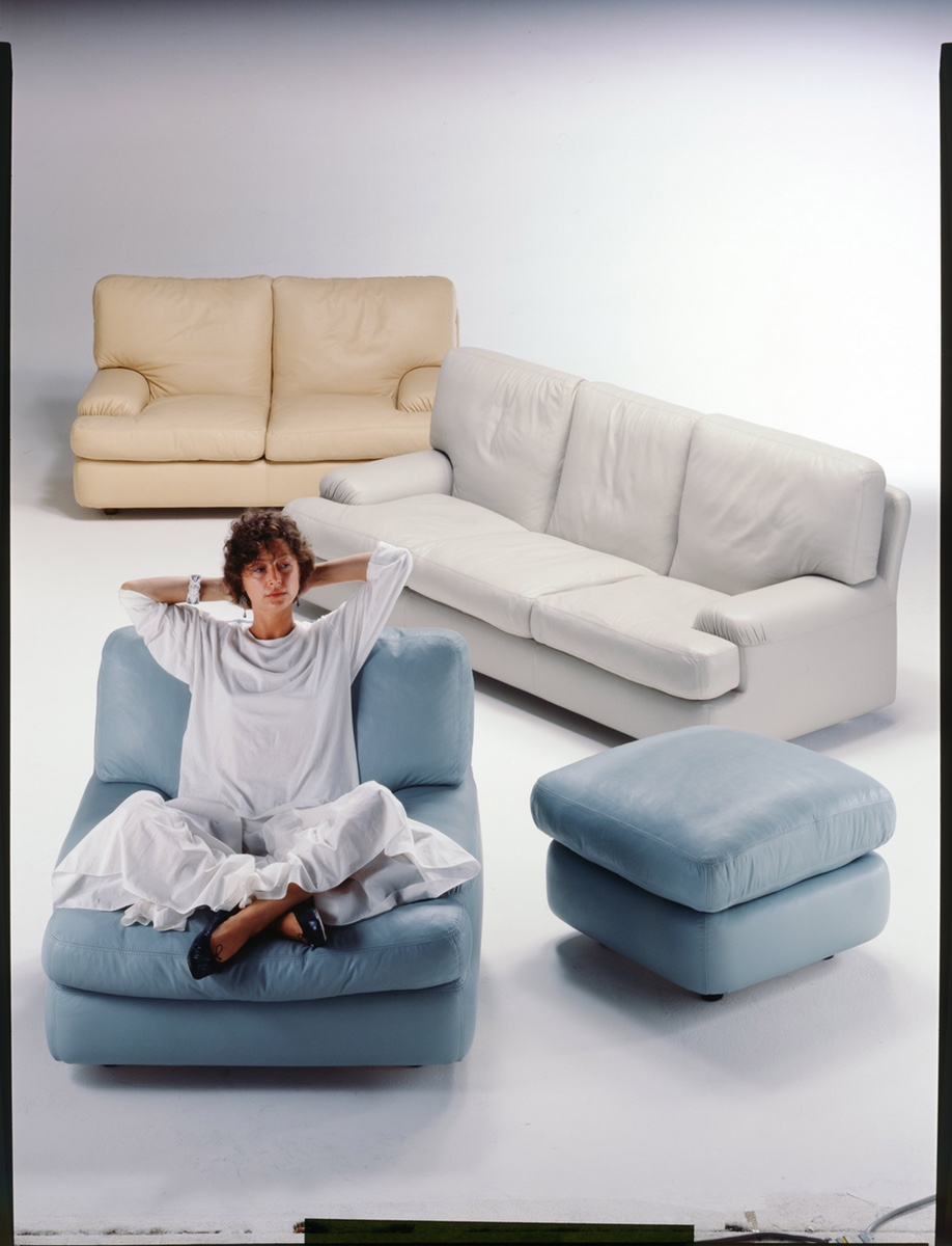 The Benson sofa, when it was first introduced in 1978