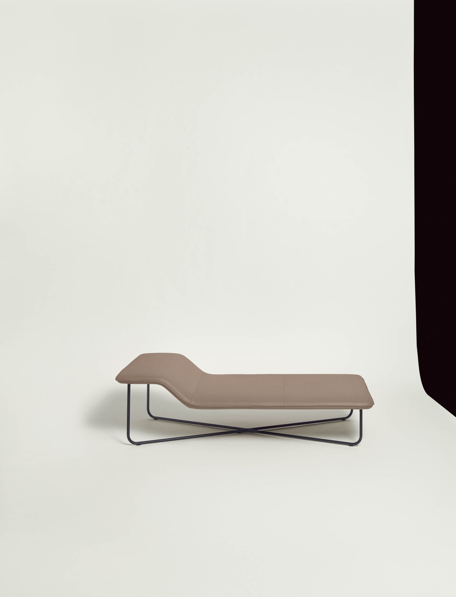The Clivio lounge, by Keiji Takeuchi, is one of several pieces Living Divani launched last year that are designed by a young roster of designers