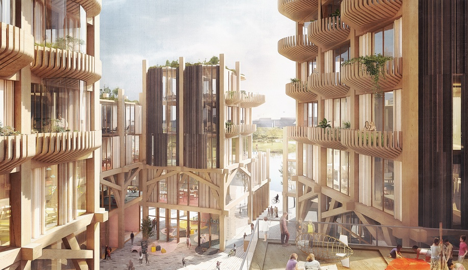 Rendering by Picture Plane for Thomas Heatherwick