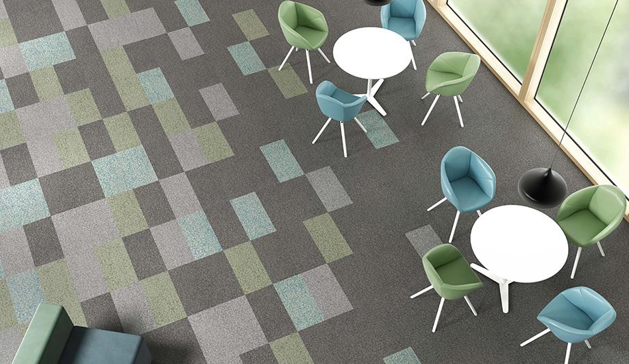 Creative Code Vinyl Floor Tiles by Patcraft