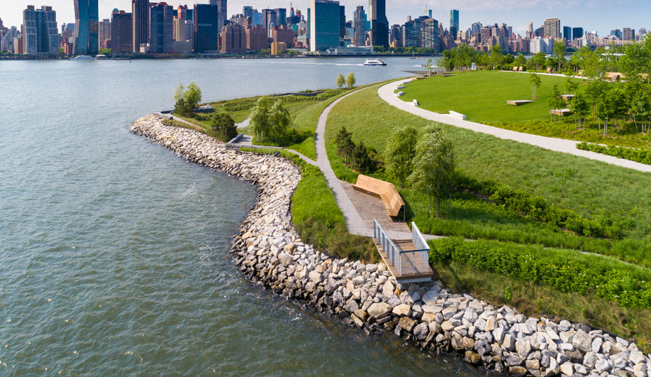 Hunter's Point South Park, SWA/Balsley, Weiss/Manfredi, Arup, New York City