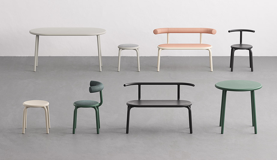 Torno Seating Collection by Halle+