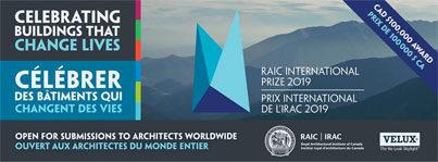 RAIC International Prize 2019