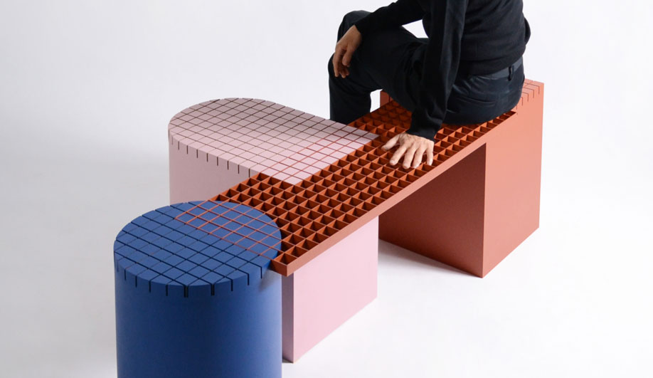 Urban Shapes Benching System by NortStudio