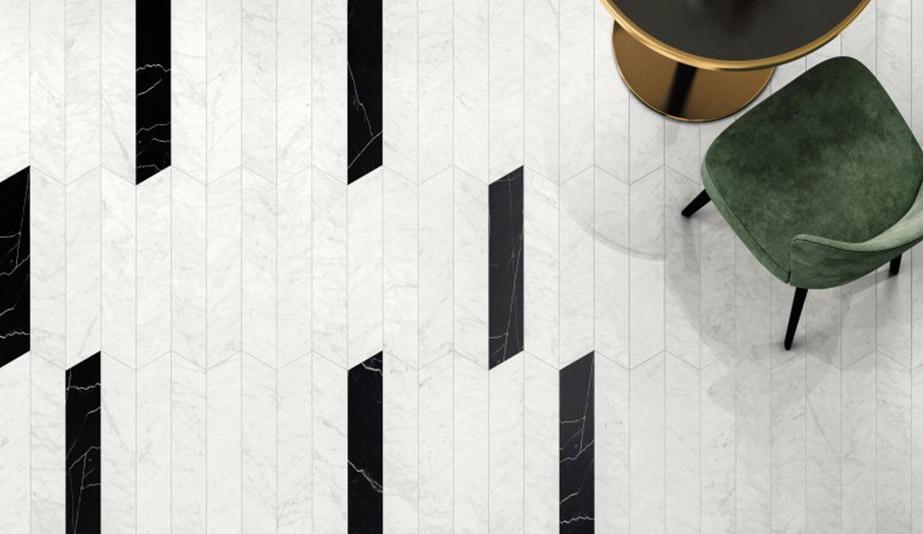 Chevron Format Tiles by Ceramiche Piemme