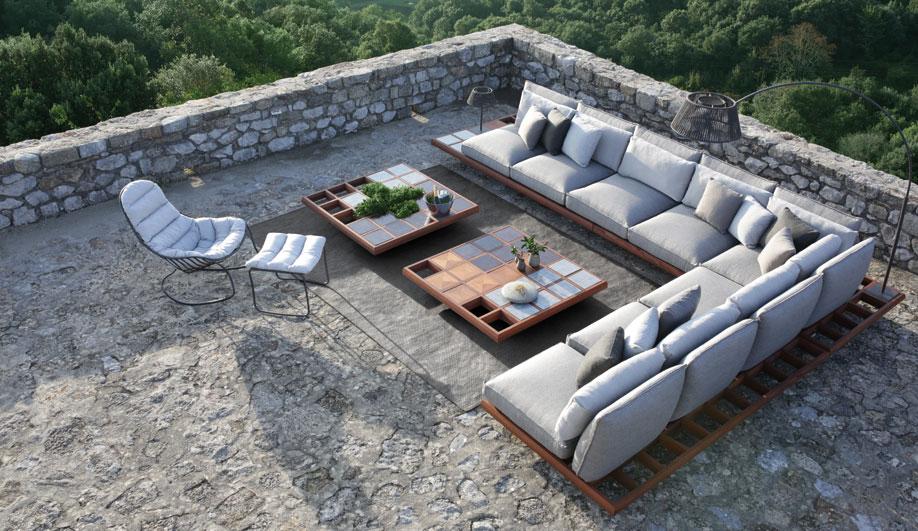 Mozaix Lounge by Royal Botania