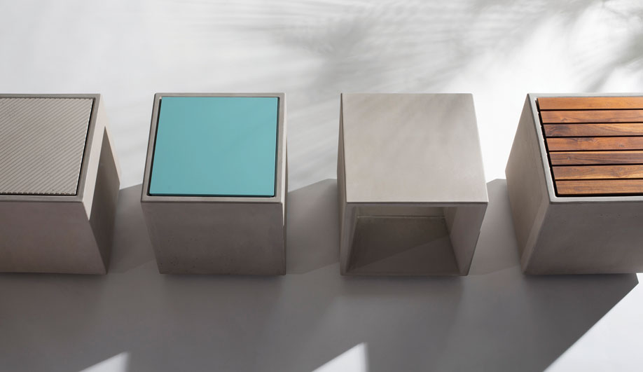 Quadra Seating System by Forms+Surfaces