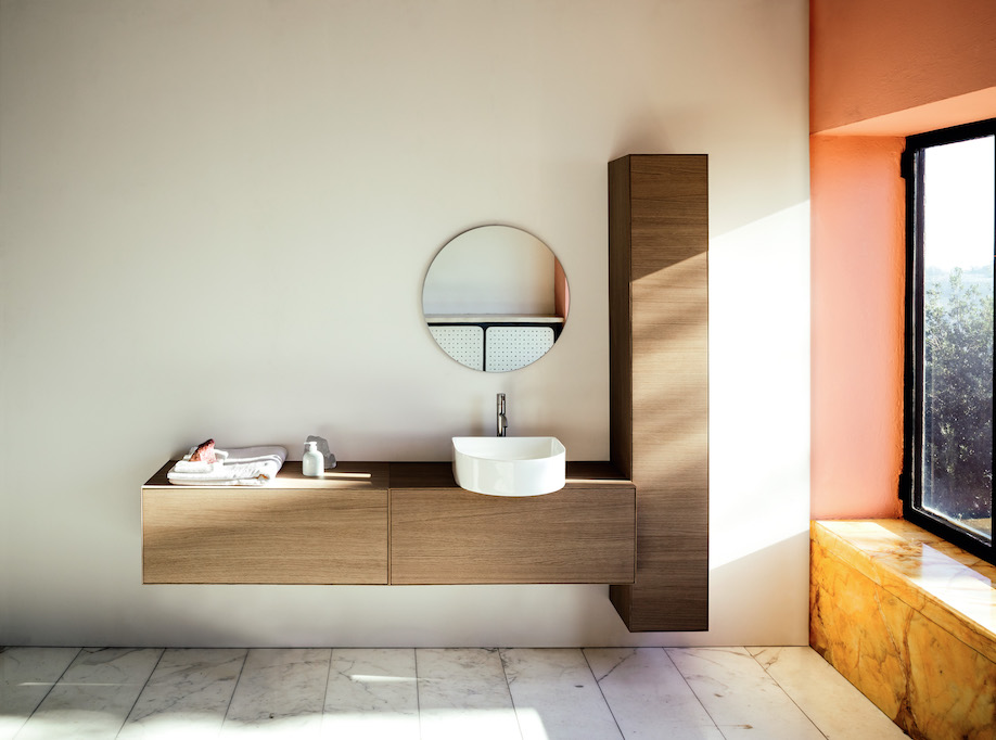 Sonar Bathroom Collection, Laufen, SaphirKeramik