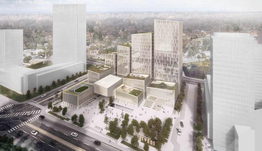Etobicoke Civic Centre, Henning Larsen, Danish architecture in Toronto