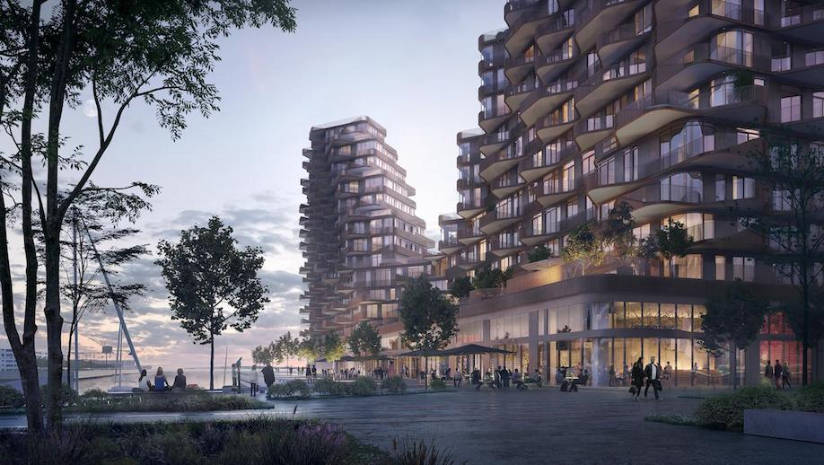 3XN, Aqualuna, Danish architecture in Toronto