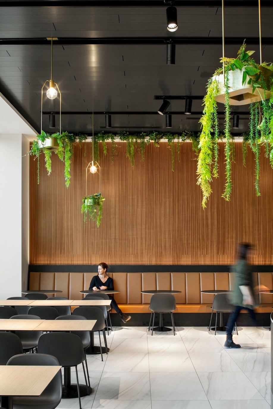 food court, food hall, La Cuisine, Rockland Center, Mount Royal, Architecture49, Humà Design+Architecture