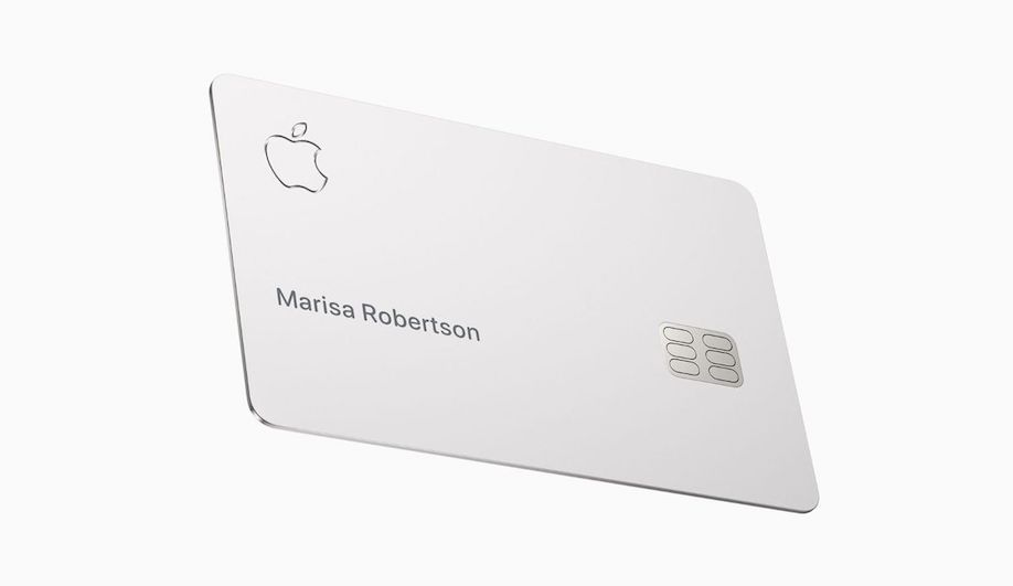Apple Card Plays Up Titanium's Tactile Appeal