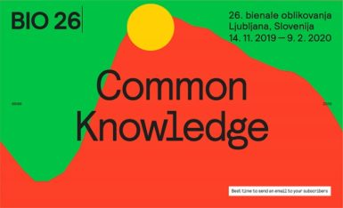 BIO 26: Ljubljana Biennial of Design