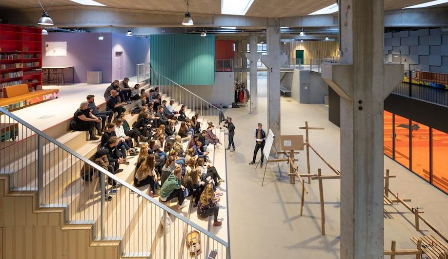 Roskilde Folk High School, MVRDV, COBE