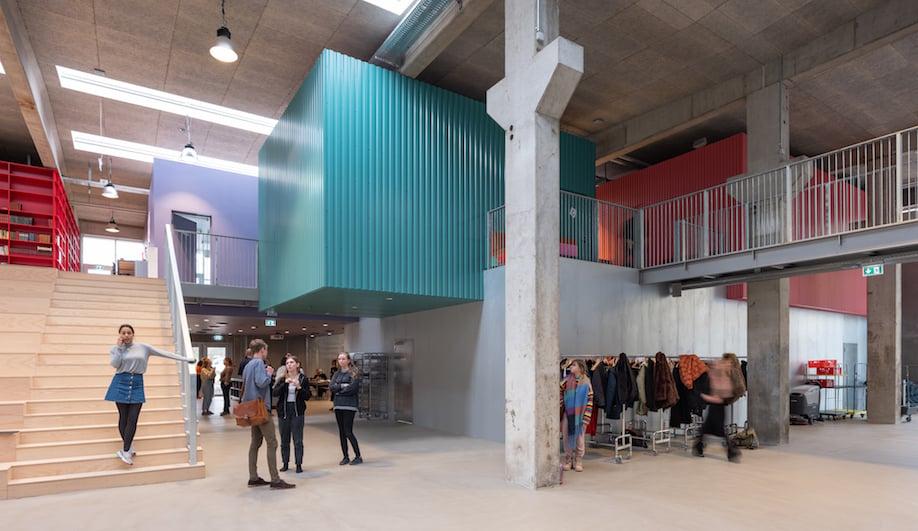A Festival Spirit Shapes Denmark's Eclectic Roskilde School