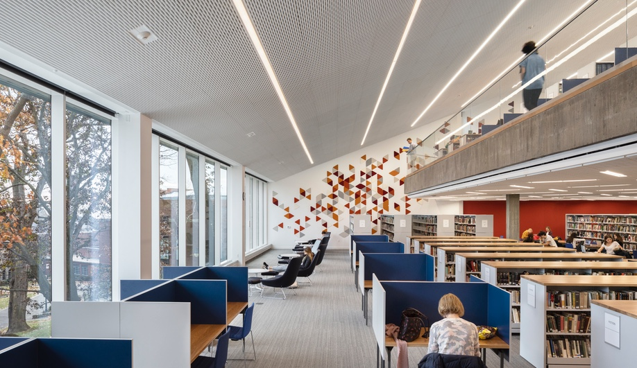 Tate Library, Architecture Research Office, ARO, New York, Ethical Culture Fieldston School