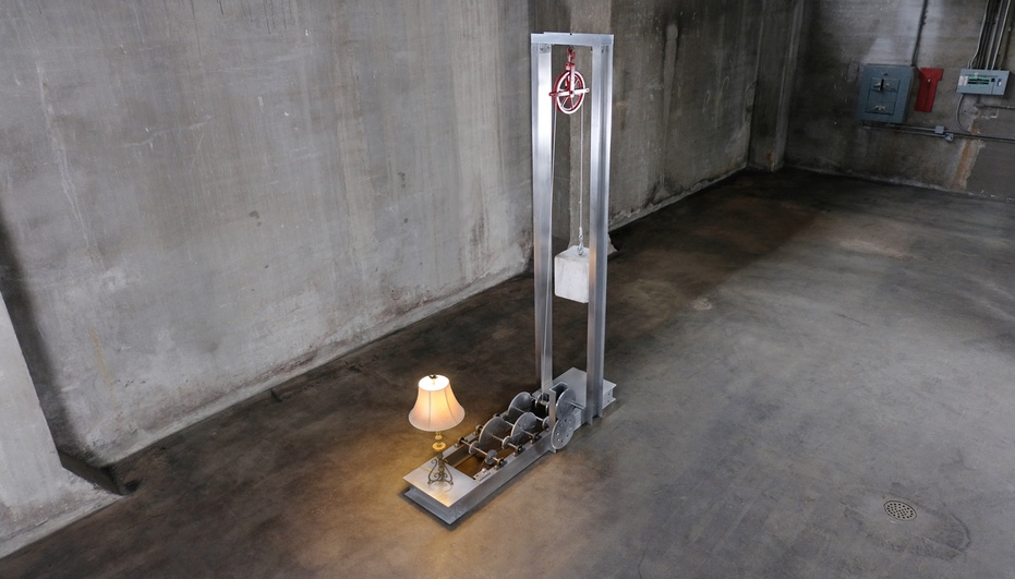 New Auction, Castor Design, Castor's Ug = MGH illustrates the power of the gravity battery machine