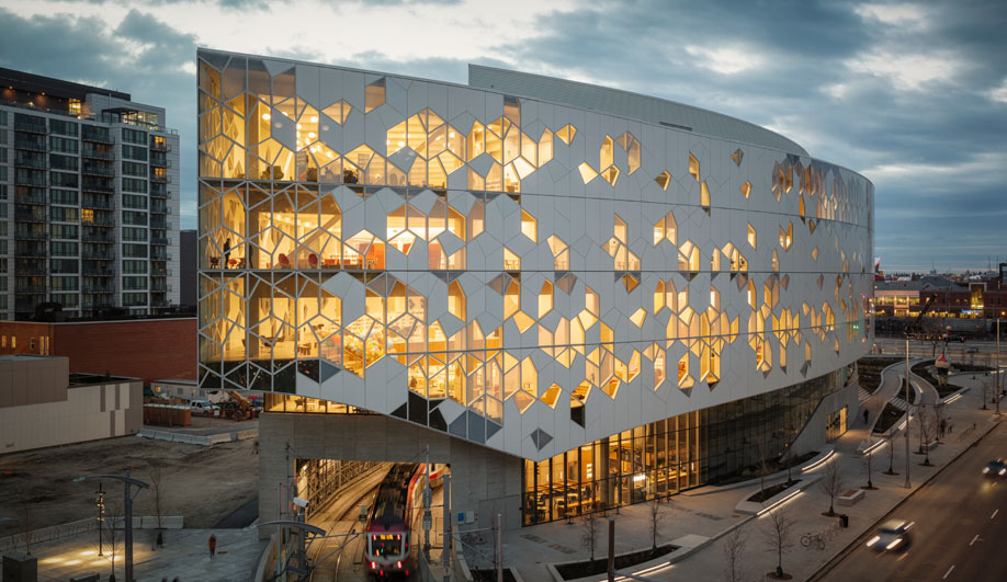 Calgary's Iconic New Library Inspires Sense of Wonder