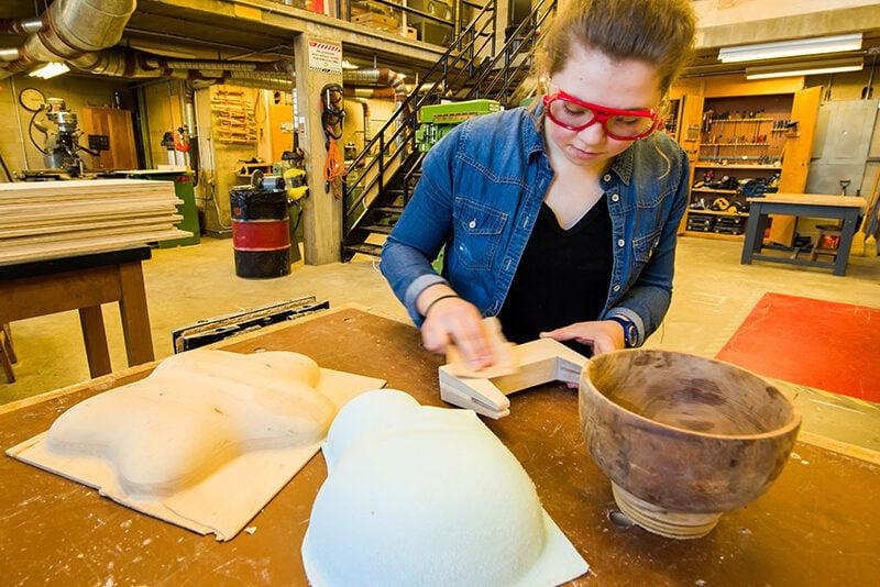 Carleton Industrial Design student Heidi Evans