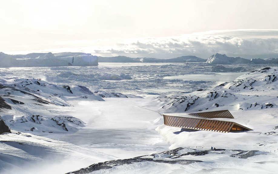 Icefjord Centre, Dorte Mandrup Arkitekter.