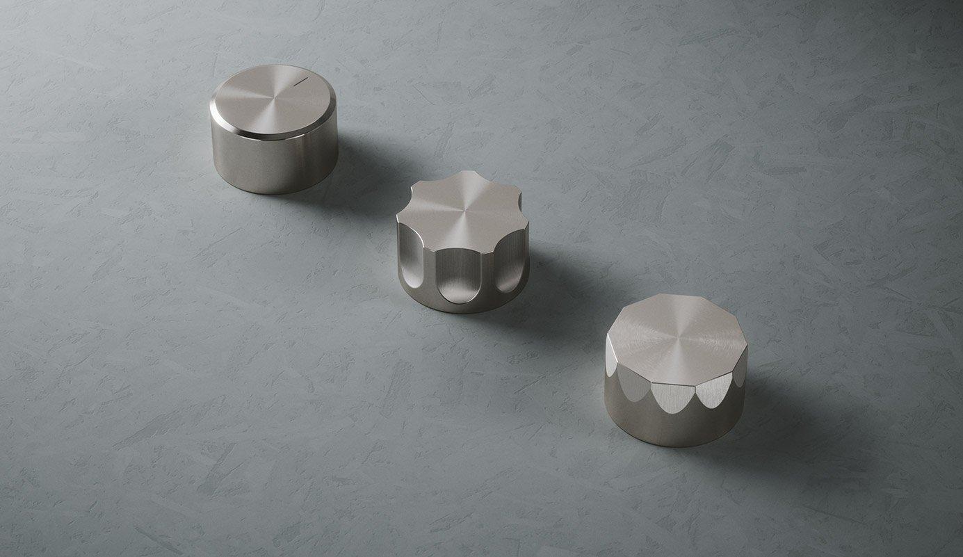 Trio of Faucets by Quadro Design