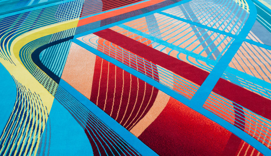 Zaha Hadid's Bold Style Inspires a Carpet Collection