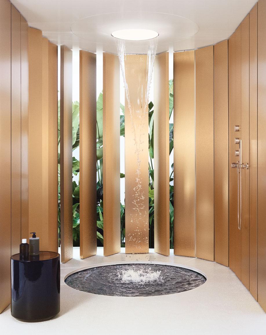 shower fixtures, Aquamoon, Dornbracht