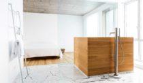 Montreal's La Firme Reimagines a Penthouse Bathroom
