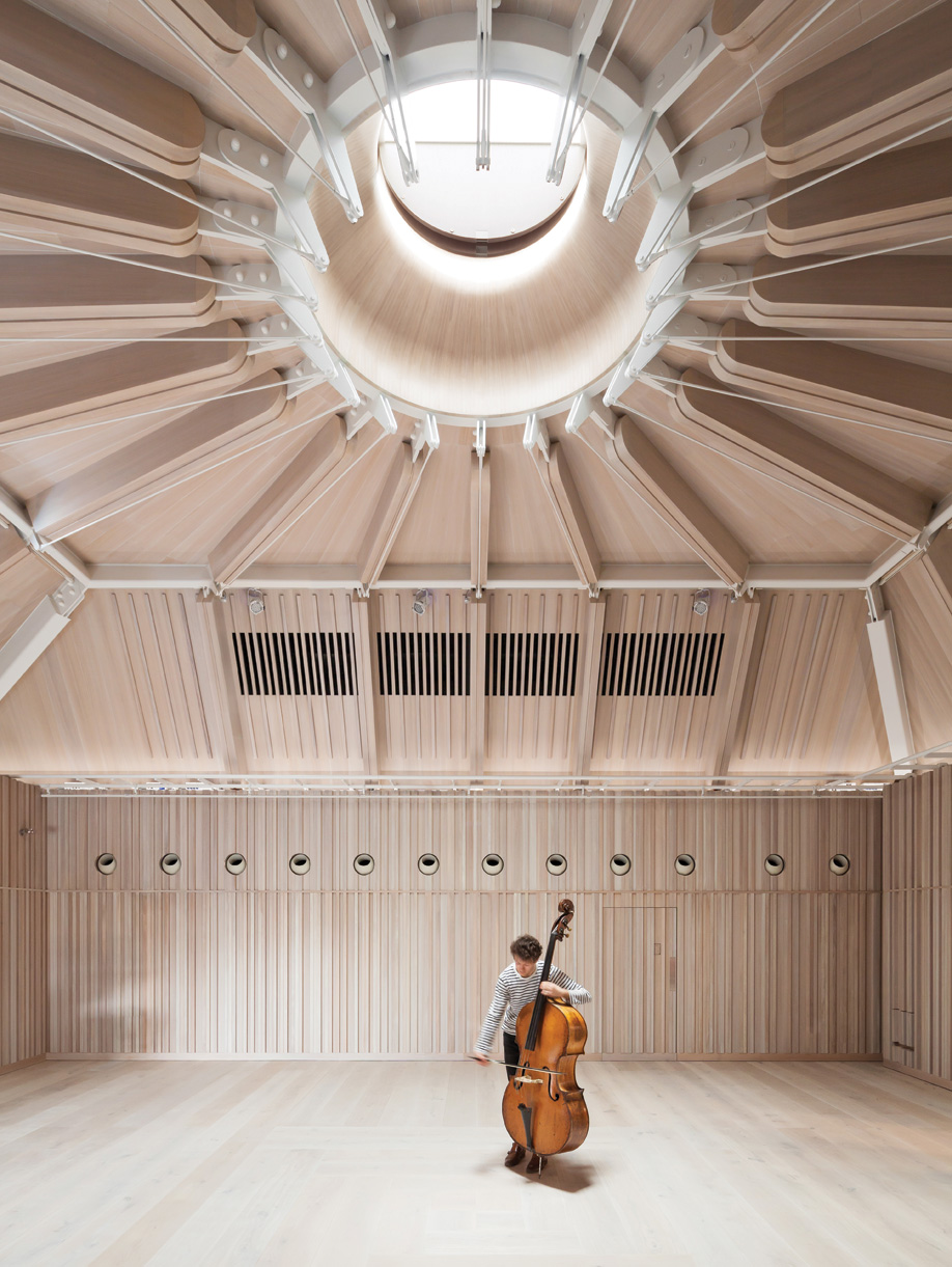 Royal Academy of Music, Ian Ritchie Architects