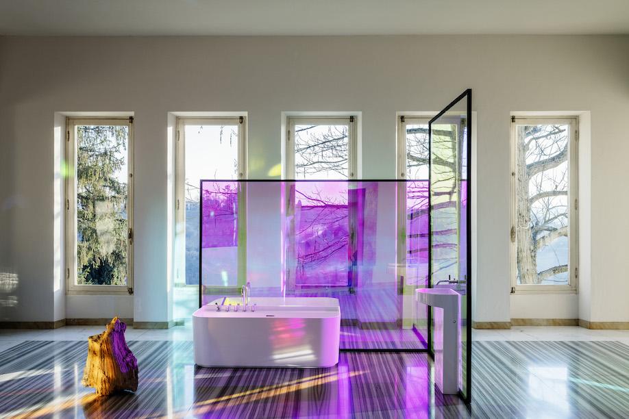 Sonar Bathroom Collection, Laufen, SaphirKeramik