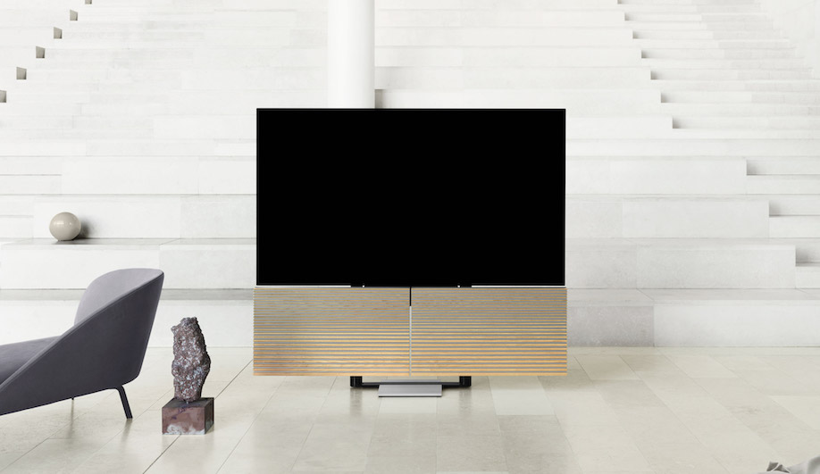 Bang & Olufsen Debuts Its Foldable Beovision Harmony TV in Milan