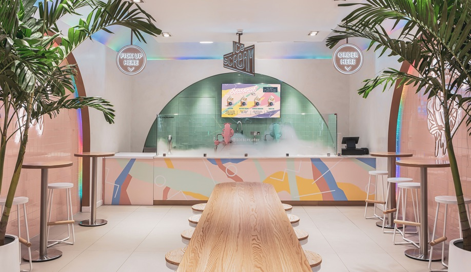 Aesthetique's New York Ice Scream Shop Serves Up Trend Appeal
