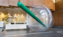Natural Plasticity Installation Expresses Scope of Disposable Culture