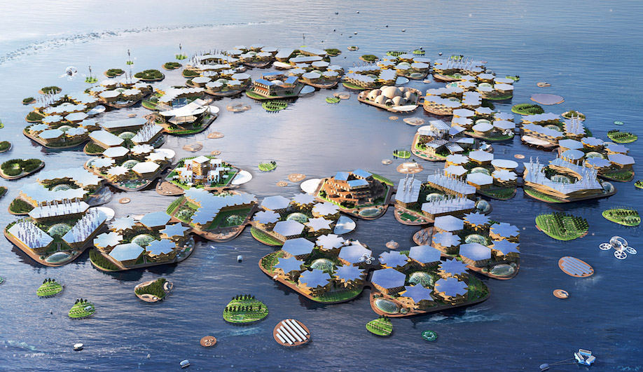 Can BIG's Oceanix City Turn the Tide on Rising Sea Levels?