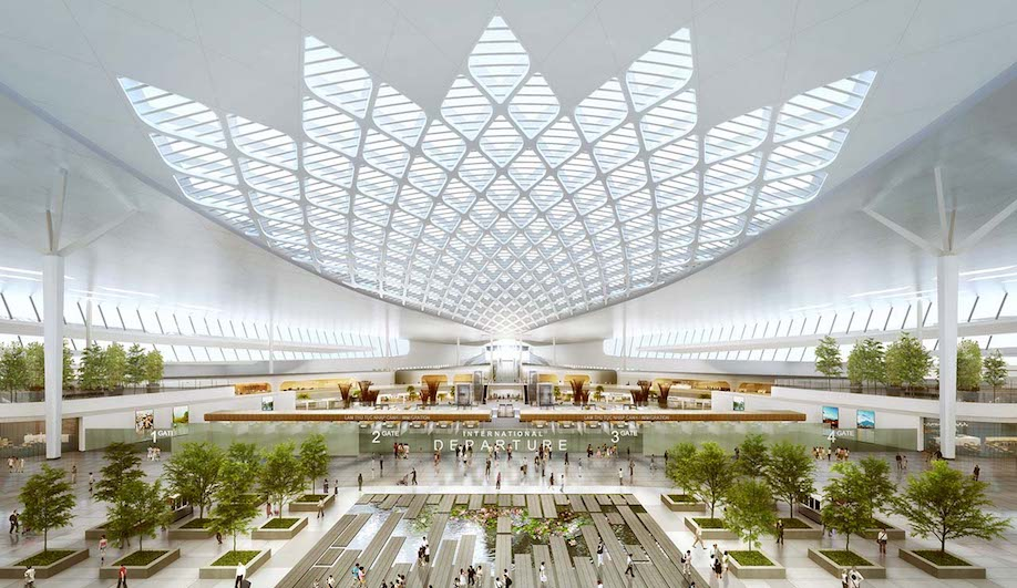 airports, Vietnam airport, Heerim Architects