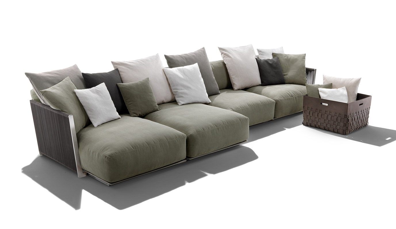 Vulcano Outdoor Sectional by Flexform