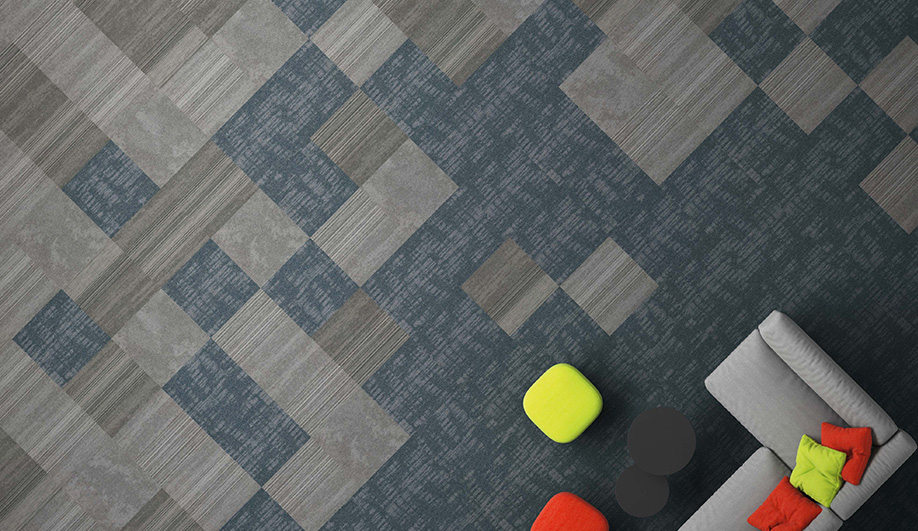 Urban Relief Carpet Tiles by Patcraft