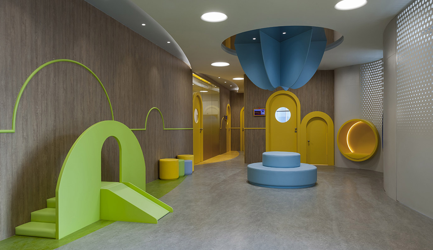 Vudafieri-Saverino Partners, Gymboree China Kindergarten