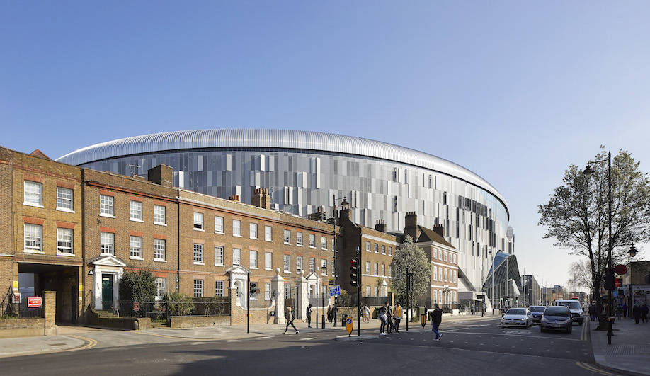 Populous Creates a Distinctly Urban Home for English Football's Spurs