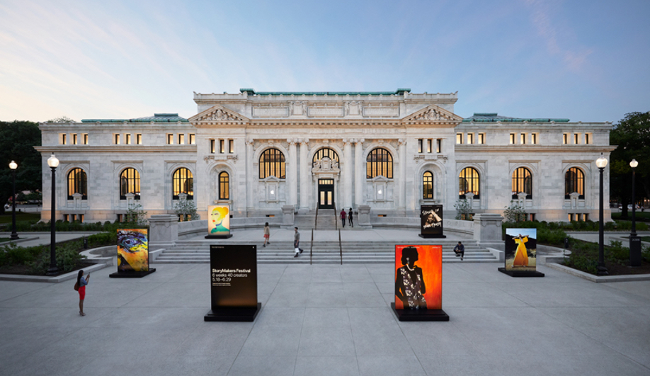Foster + Partners Reinvent D.C.'s Historic Carnegie Library as Apple Store