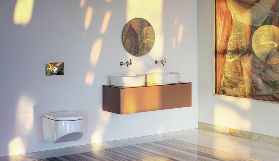 Laufen's SaphirKeramik Brings New Flexibility – and Beauty – to Bathroom Fixtures