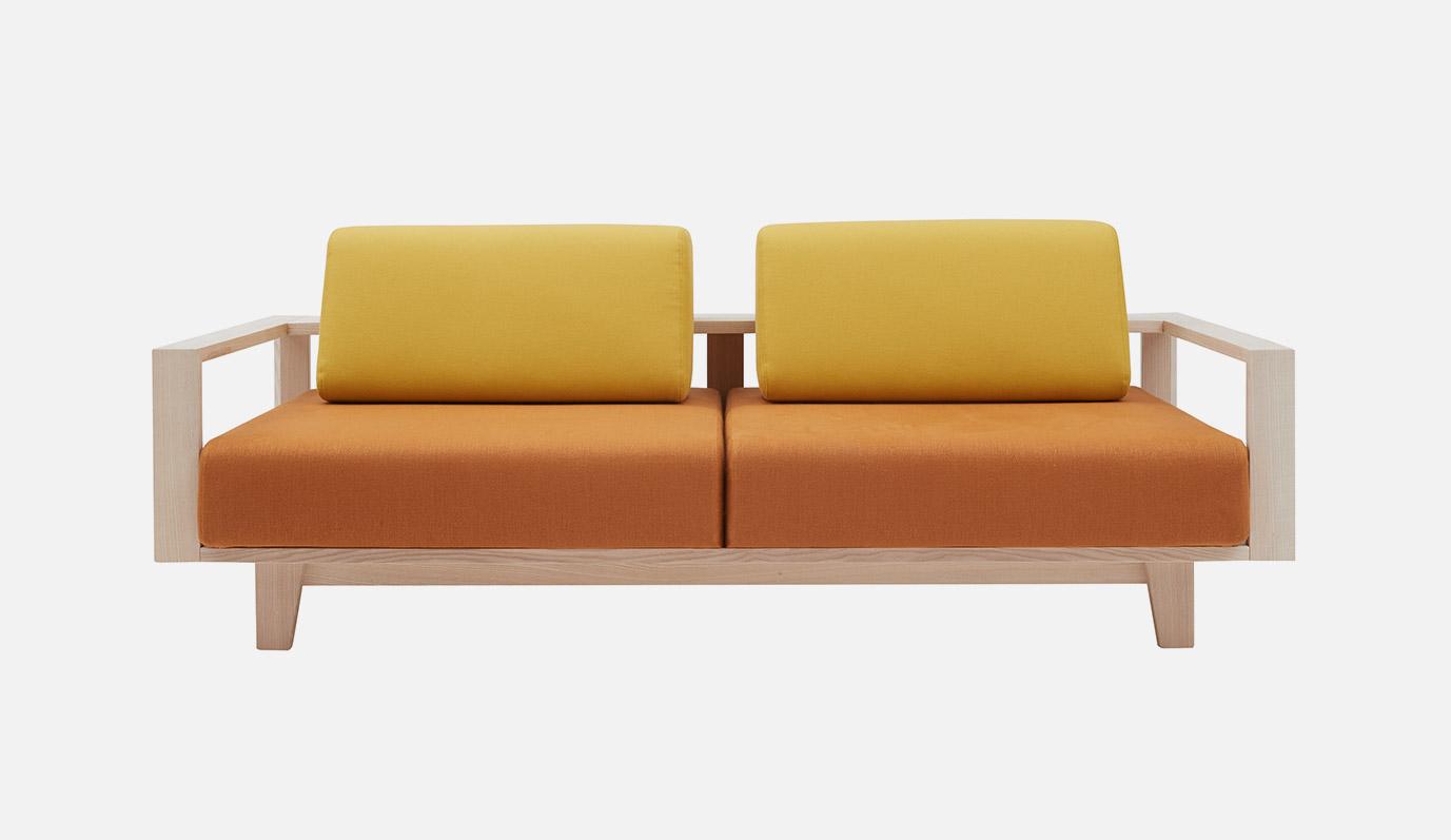Wood Sofa bySoftline