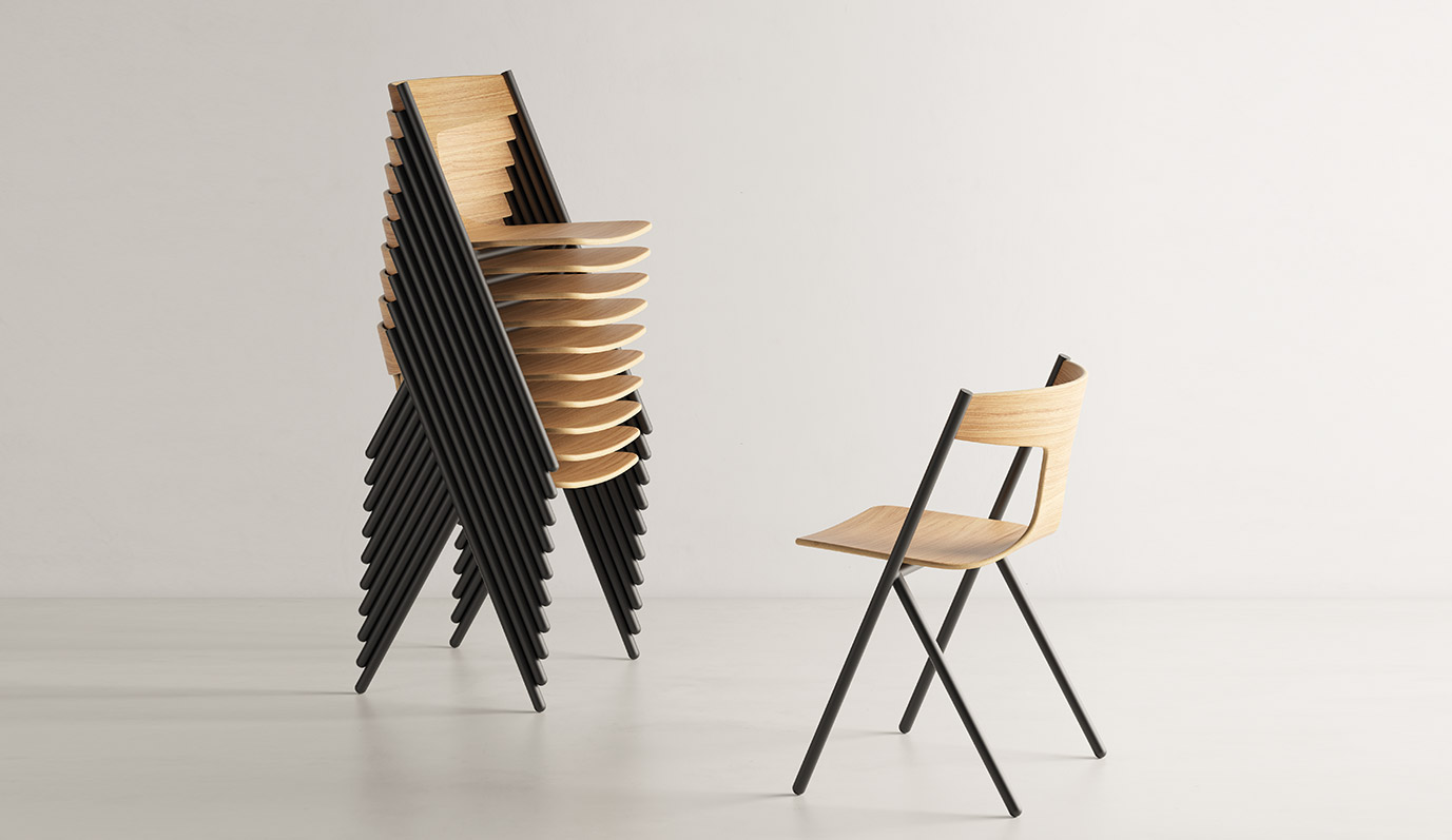 Quadra Chair byViccarbe
