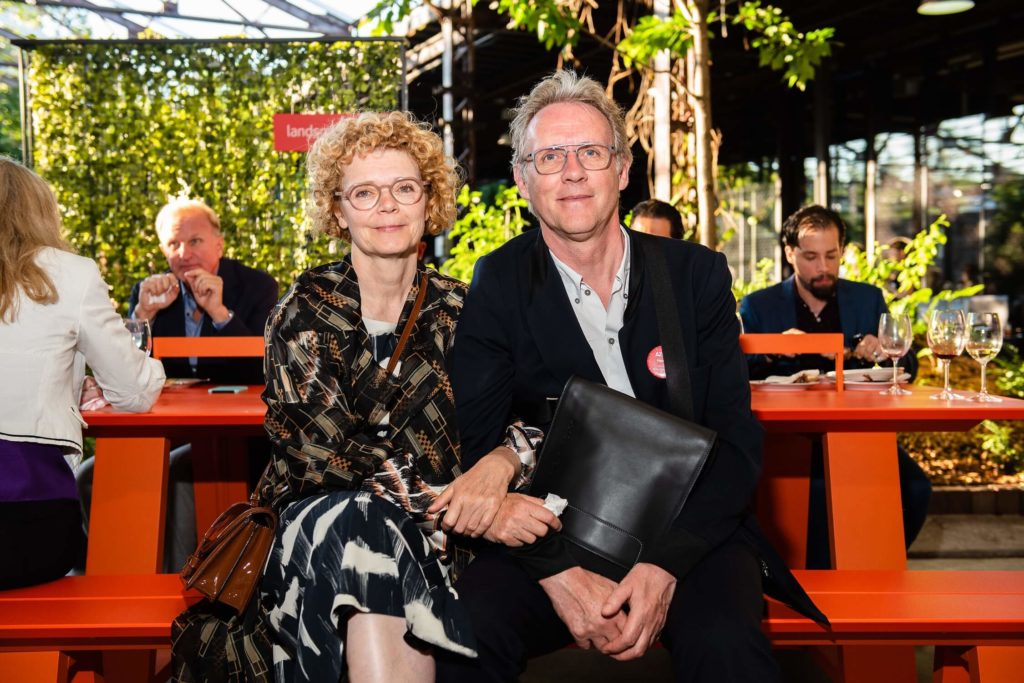 Right: Belgian designer Leo Aerts won a People's Choice nod in furniture, AZ Awards 2019: Scenes from the Gala