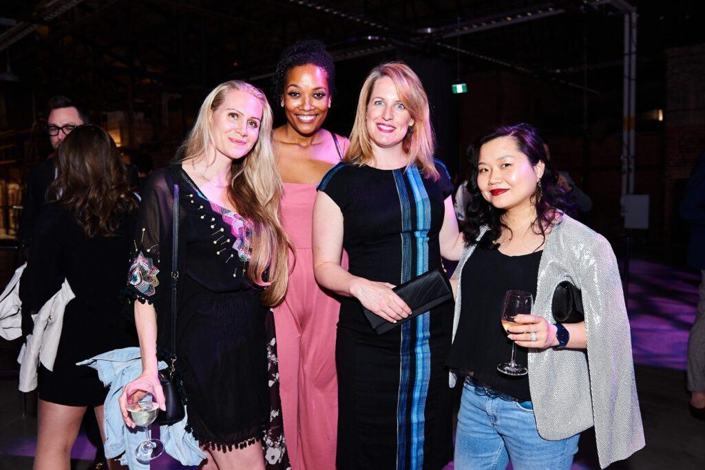 Design mavens Lisa Barnes (IDS Toronto), Arethea Harris (Velux), Katia Varricchio (IDS Toronto) and IDS National Director Karen Kang, AZ Awards 2019: Scenes from the Gala