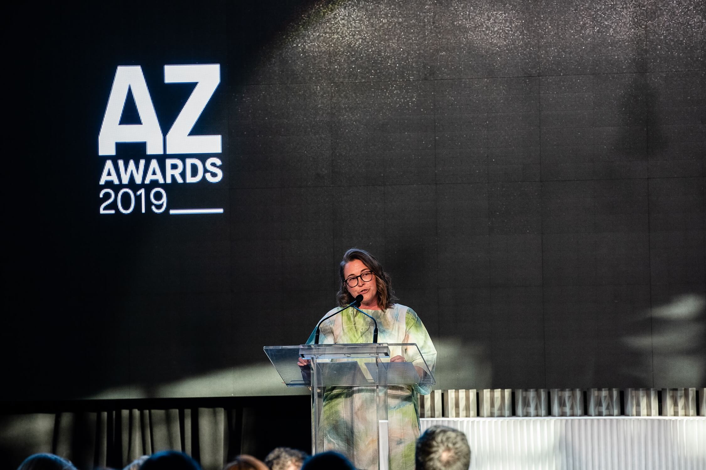 MC Jessica Allen, of CTV's The Social, set the irreverent tone for the evening, AZ Awards 2019: Scenes from the Gala