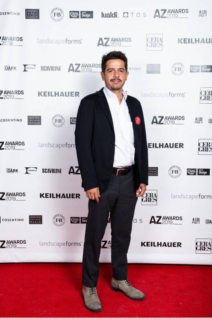 Jose Alfonso Quiñones Rios of BAAQ, the Mexican firm behind AZ Awards-nominated Lirio 7, AZ Awards 2019: Scenes from the Gala