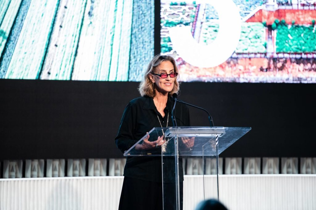 American landscape legend Martha Schwartz takes the stage to talk about the climate emergency – and how we all need to play a role in turning it around, AZ Awards 2019: Scenes from the Gala