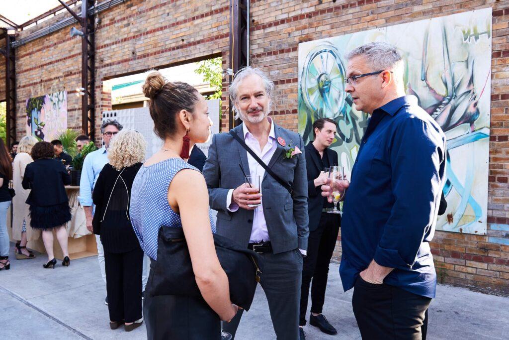 Architect Paul Raff, centre, AZ Awards 2019: Scenes from the Gala